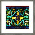 Stained Glass 1 Framed Print