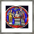 Stained Glass - Baptism - Musee De Cluny Framed Print