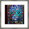 Stained Glass Beauty #20 Framed Print