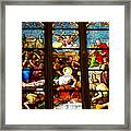 Stained Glass Beauty #38 Framed Print