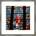 Stained Glass Beauty #39 Framed Print