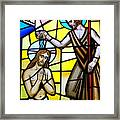 Stained Glass Beauty #9 Framed Print