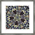 Stained Glass Kaleidoscope 38 Framed Print