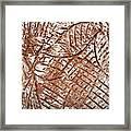 Stares - Tile Framed Print