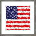 Stars And Stars And Stripes Framed Print
