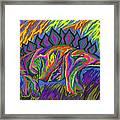 Stegasaurus Colorado Framed Print