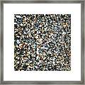Stones On South Beach In Arklow Ireland Framed Print