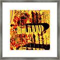 Stratocaster Strat Plus Lace Sensors Pop Art Framed Print