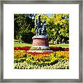 Strauss In Flowers Framed Print