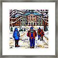 L'art De Mcgill University Tableaux A Vendre Montreal Art For Sale Petits Formats Mcgill Paintings  Framed Print