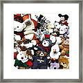 Stuffed Animals Framed Print