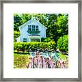 Summer Afternoon In The Hamptons Framed Print