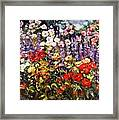 Summer Garden II Framed Print