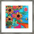 Summers Dream Framed Print