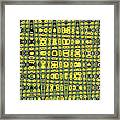 Sunflower #6595ew, Abstract, Framed Print
