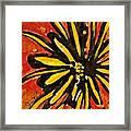 Sunny Hues Watercolor Framed Print