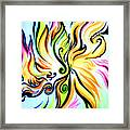 Sunny Morning. Abstract Vision Framed Print