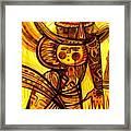 Sunny Warrior Framed Print