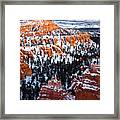 Sunset Over A Hoodoo Nation IIi Framed Print