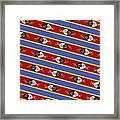 Swaziland Flag 3 Framed Print