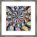 Swirl 12 Framed Print
