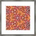 Swirls Abstract Framed Print
