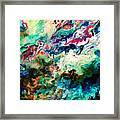 Swirls Of Paint Xii Framed Print
