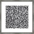 Synesthetic Charity- Spain 1 Framed Print