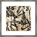 Tableware Abstract Framed Print