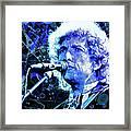 Tangled Up In Blue, Bob Dylan Framed Print