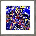 Tangled Web Framed Print