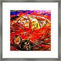 Targa Framed Print