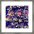 Textured Garden Succulents Framed Print