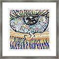 The All Seeing All Colourfull.... Framed Print