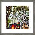 The Art Of Jackson Square Framed Print