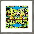 The Arts Of Textile Designs #3 Framed Print