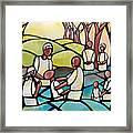 The Baptism Framed Print