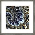 The Blue Diamonds Framed Print
