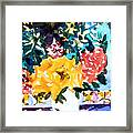 The Butterfly Bouquet Framed Print