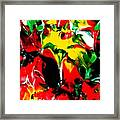 The Colors Of The Caribbeans Framed Print