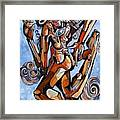 The Dance Of Ecstacy Framed Print