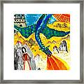 The Dragon Framed Print by Sushila Burgess