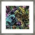 The Duel Of The Dragons  Framed Print