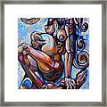 The Expecting Muse Framed Print