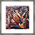The Expressive Muse Framed Print