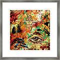 The Eye Of Art Framed Print