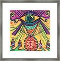 The Eye Opens... To A New Day Framed Print by Daina White