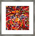 The Fearless Warrior Framed Print