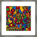 The Festival Framed Print