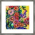 The Flower Dance Framed Print